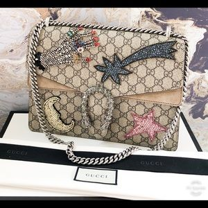 Gucci Dionysus Medium Embellished Shoulder Bag